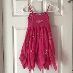 Girls pink dress size 5